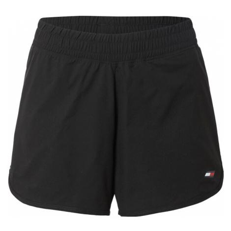TOMMY HILFIGER Kalhoty černá / bílá / červená / modrá