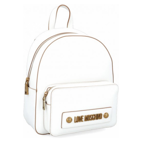 Bílý batoh LOVE MOSCHINO