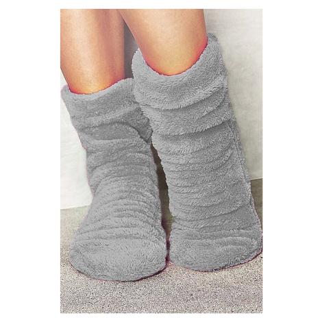 Hřejivé ponožky Crystal šedá