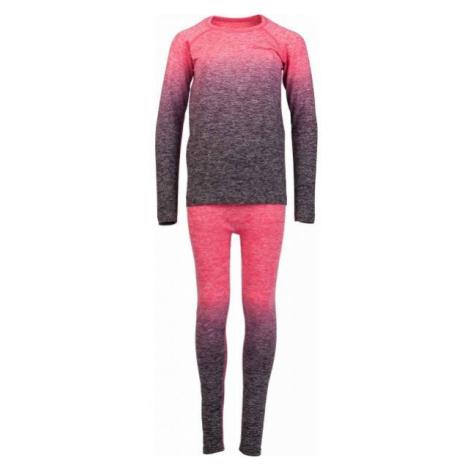Arcore FEDOR růžová - Dětské funkční termoprádlo
