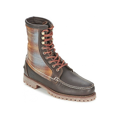 Timberland AUTHENTICS 8 IN RUGGED HANDSEWN F/L BOOT Hnědá