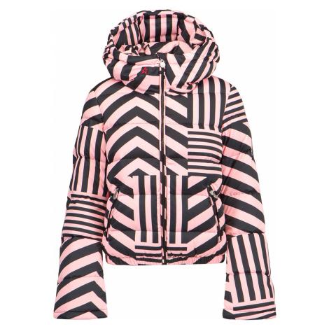 Prošívaná bunda Perfect Moment STAR DAZZLE  vzorkování|růžová|černá
