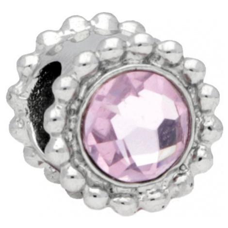 Morellato Ocelový přívěsek Drops Crystal Light Pink SCZ773