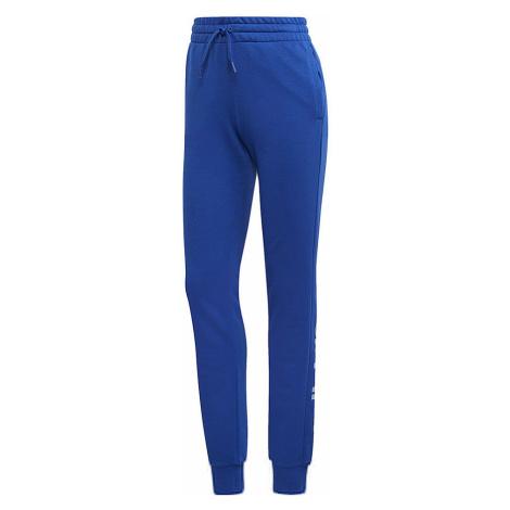 Modré dámské kalhoty Adidas