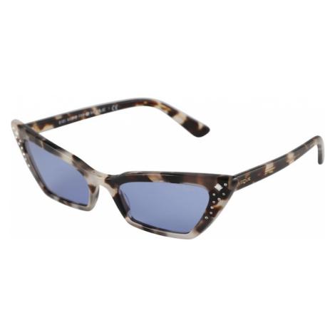 VOGUE Eyewear Sluneční brýle 'SUPER' šedá / fialkově modrá
