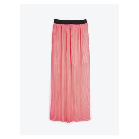 GATE Dlouhá neonová sukně