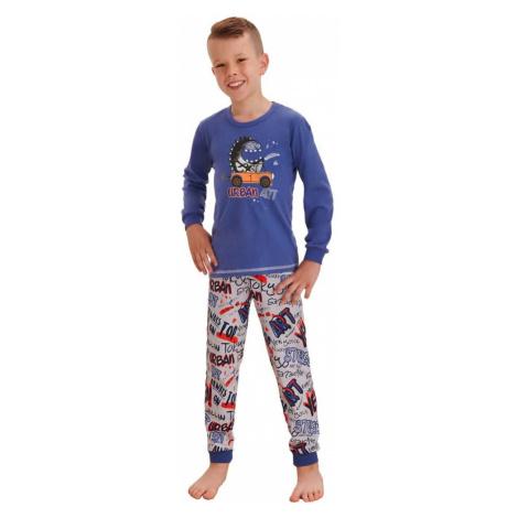 Taro Klučičí pyžamo Miloš street modré