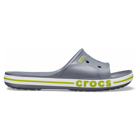 Crocs Bayaband Slide Charcoal/Volt Green