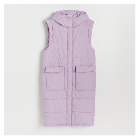 Reserved - Prošívaná vesta - Růžová