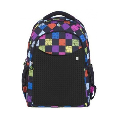 Pixie Crew batoh student backpack with print multibarevná/černá
