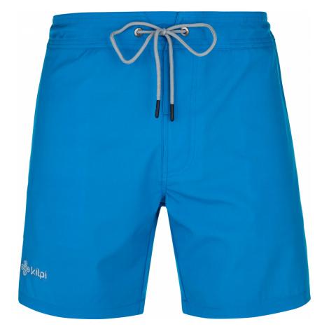 KILPI Pánské koupací šortky SANTED-M PM0097KIBLU Modrá