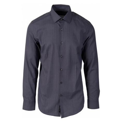 Hugo Boss pánská košile temně modrá slim fit