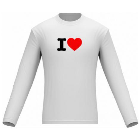 Pánské tričko dlouhý rukáv I love