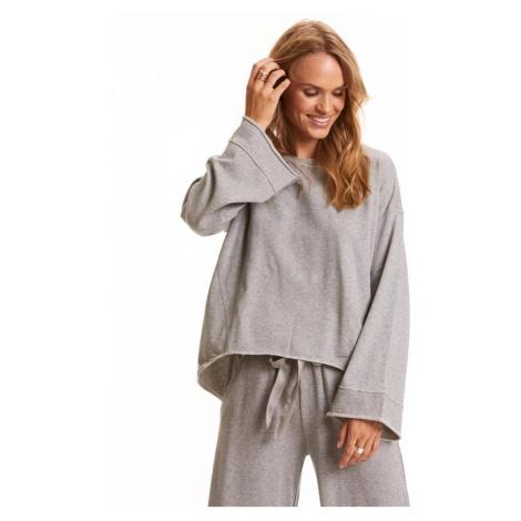 Mikina Odd Molly Back Swag Sweater - Šedá