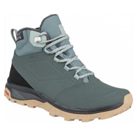 Salomon YALTA TS CSWP W zelená - Dámská zimní obuv