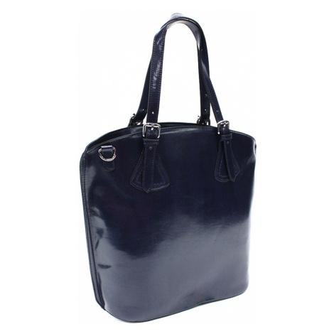 Tmavě modrá dámská elegantní kabelka Adalicia Mahel