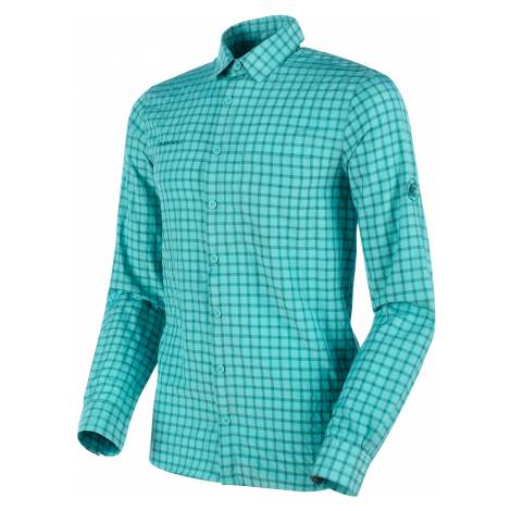 MAMMUT Lenni Longsleeve Shirt Men, Waters