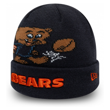 Dětská zimní čepice New Era Infant Mascot Cuff Knit NFL Chicago Bears