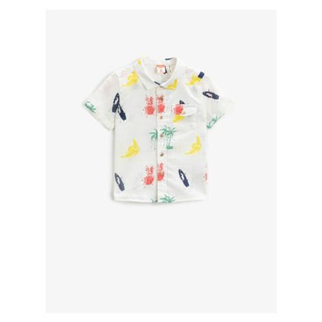 Koton Short Sleeve Shirt Printed