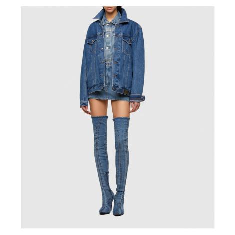 Sukně Diesel De-Eisy Skirt - Modrá