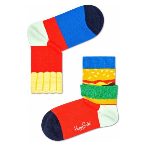 Kids Burger And Fries Sock Happy Socks