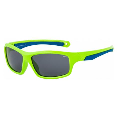 RELAX YORK Dětské sluneční brýle R3076C zelená L