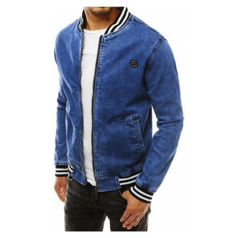 Dstreet Jedinečná riflová bunda v modré barvě
