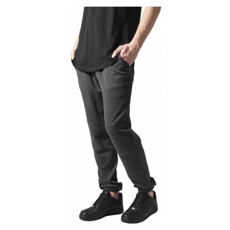 Deep Crotch Terry Biker Sweatpants - charcoal Urban Classics
