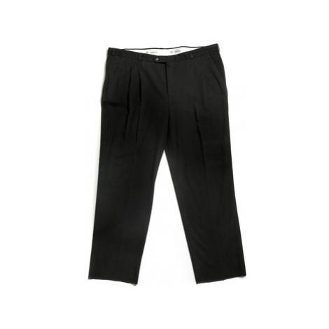 Arno Escola černé pánské kalhoty se sámkem Černá