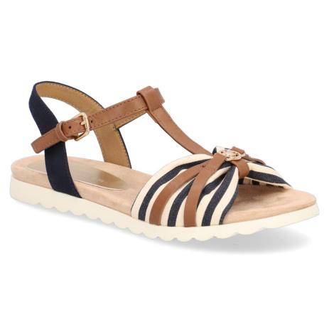Tom Tailor sandály - textil