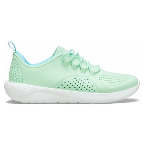 Crocs LiteRide Pacer K Neo Mint/White