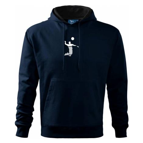 Volejbalista síť - Mikina s kapucí hooded sweater
