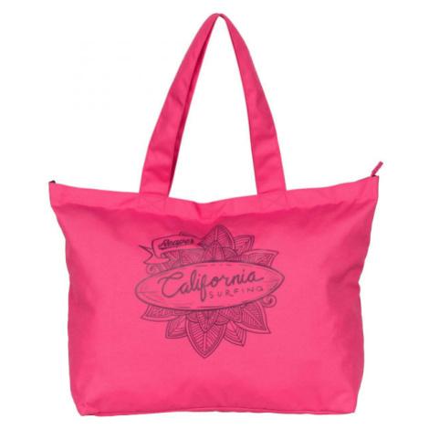 Reaper SHOPBAG růžová - Plážová taška