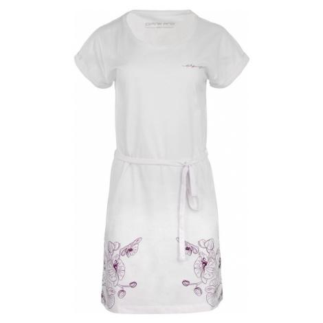 Alpine Pro Lada dámské šaty bílé