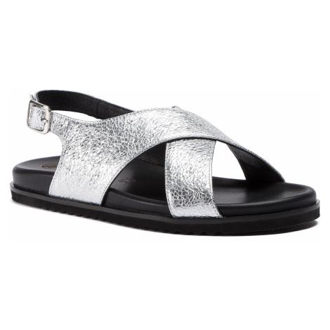 Sandály SOLO FEMME - 82604-01-I51/000-07-00 Stříbrná