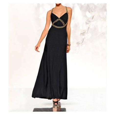 HEINE HEINE plesové šaty černé