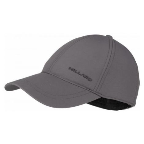 Willard EZDRA šedá - Pánská čepice s kšiltem