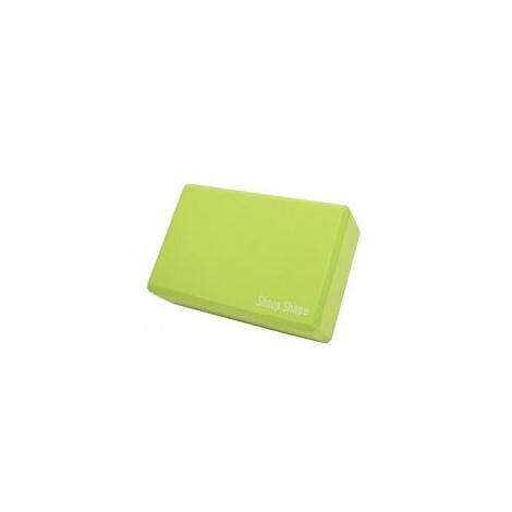 Sharp Shape Yoga block green