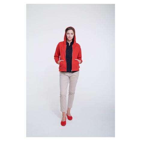 Big Star Woman's Zip Hooded Sweatshirt 158852 -603