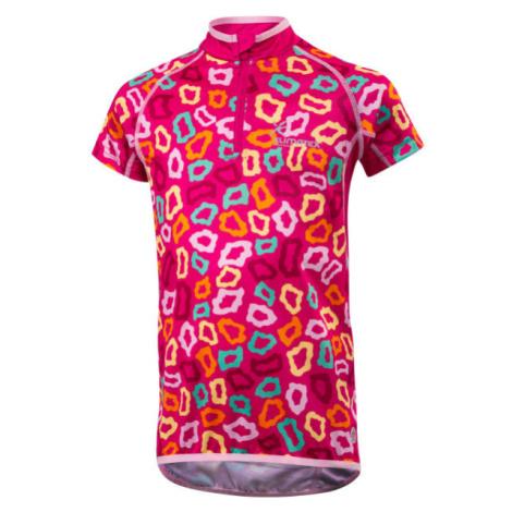 Klimatex MILKY fialová - Dětský cyklistický dres