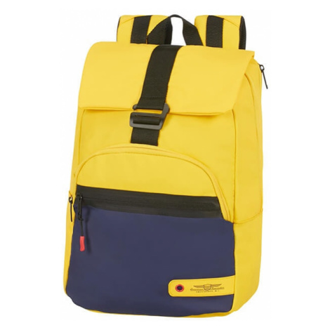 "American Tourister Batoh City Aim Coated 79G 20 l 14.1"" - žlutá"