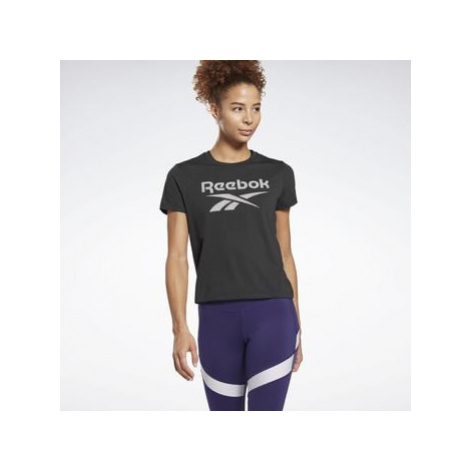 Reebok Sport Workout Ready Supremium Big Logo T-Shirt Černá