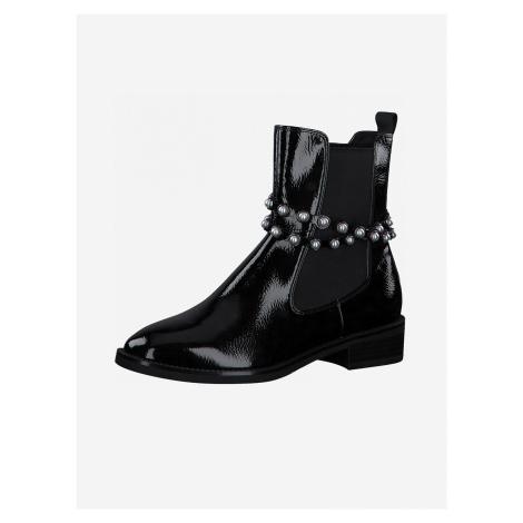 Kotníková obuv Tamaris Černá