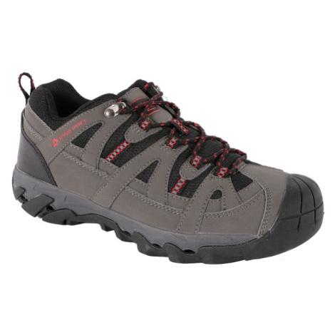 ALPINE PRO LEOKAD šedá - Pánská treková obuv