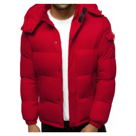 Zimní bunda v bordó barvě JB/JP1161/4