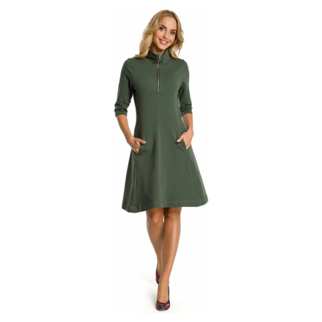 Made Of Emotion Woman's Dress M349 Military