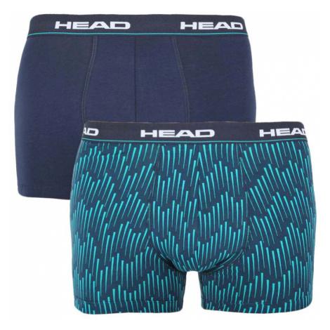 2PACK pánské boxerky HEAD modré (100001415 001)