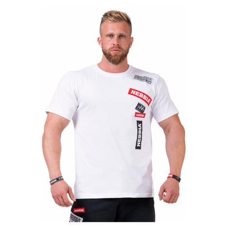 Limitless BOYS tričko 171 (bílá, černá) Nebbia