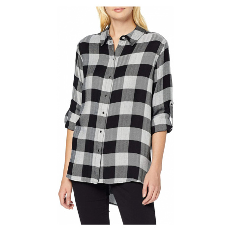 Guess dámská šedá kostkovaná košile