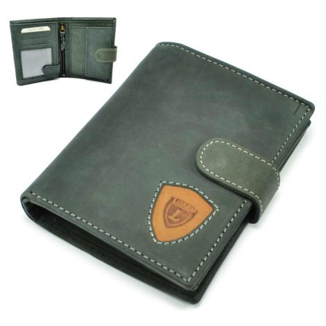 Kožená peněženka moderní pánská Loren